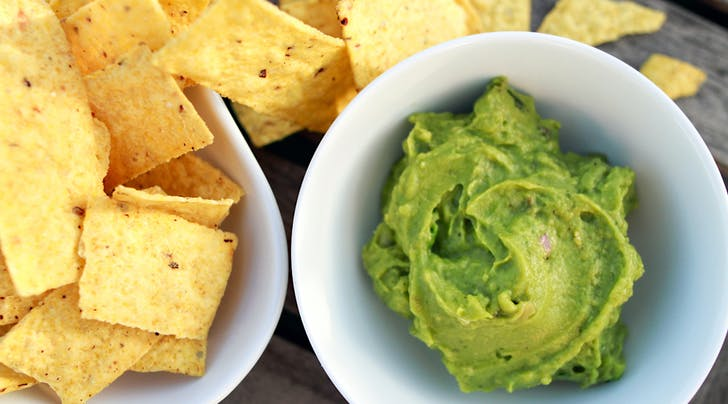How to Make Guacamole Using Only Two Ingredients