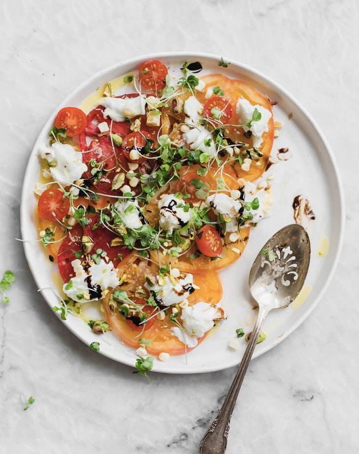 heirloom tomato carpaccio recipe