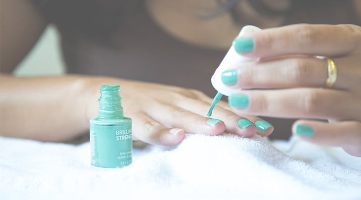 The One Trick to Drying Your Nail Polish Insanely Fast