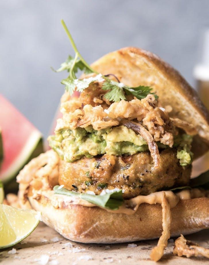 jalapeno cheddar guacamole turkey burgers recipe