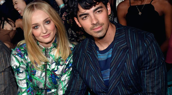 Joe Jonas and Sophie Turner Just Got Married in Vegas (What?)