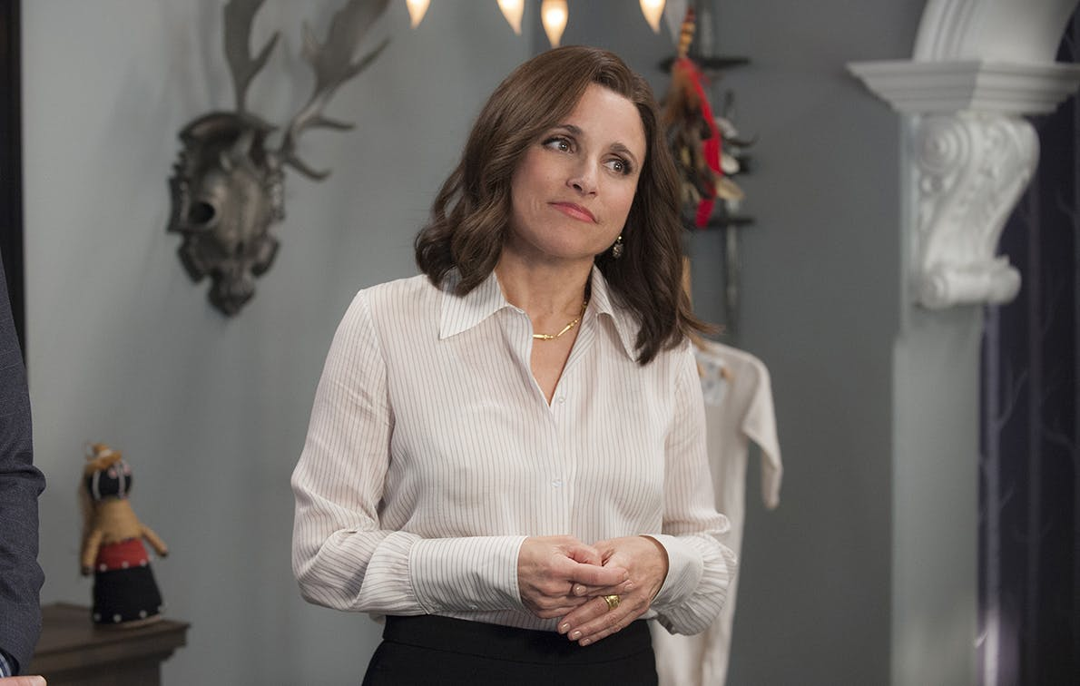 There's Now a Live Auction Featuring Selina Meyer's 'Veep' Wardrobe And…What Are You Waiting For?