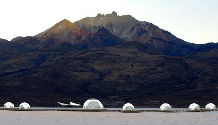 kachi lodge domes in bolivia