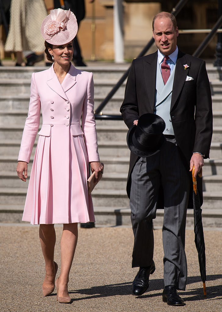 kate middleton wearing pink