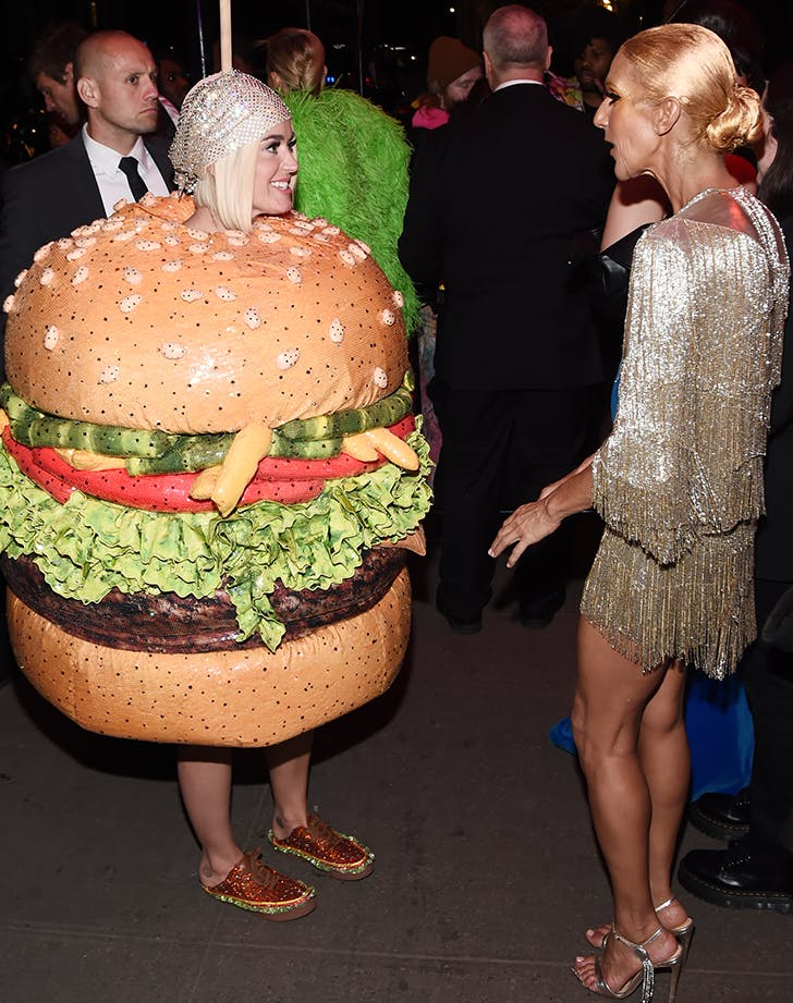 katy perry and celine dion talking after the 2019 met gala