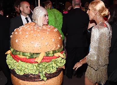 Hamburger Shoes From the Met Gala