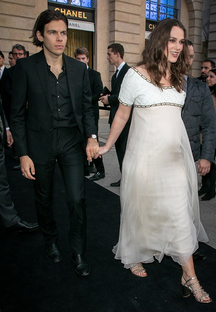 keira knightley pregnant with second child chanel