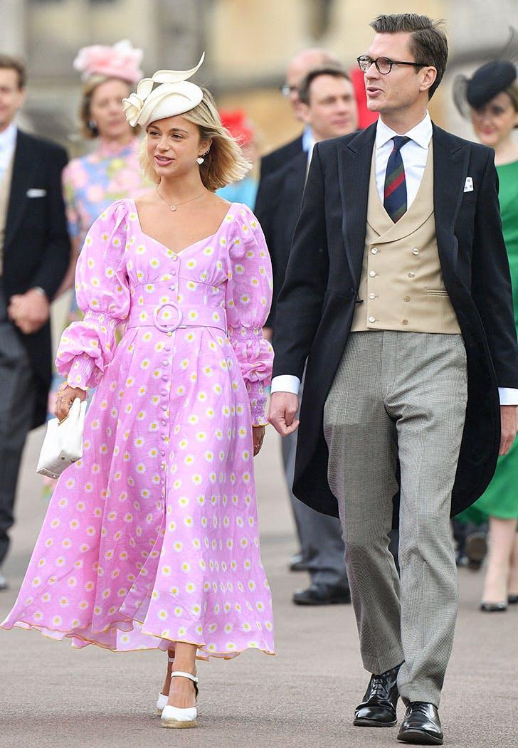 lady gabriella windsor wedding pink dress