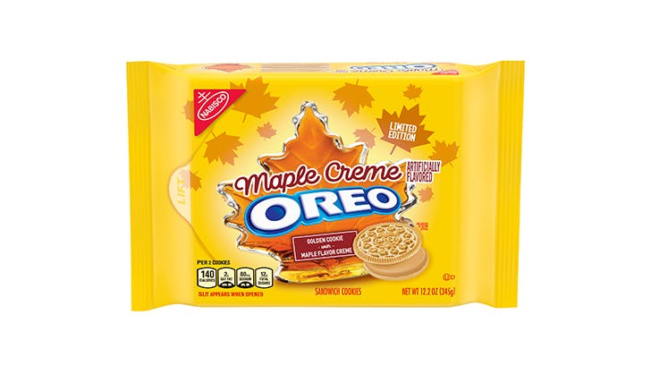 maple creme oreos package
