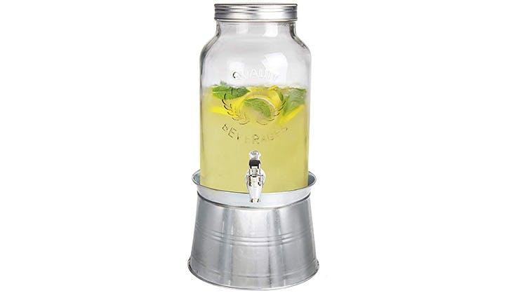 mason jar drink dispender