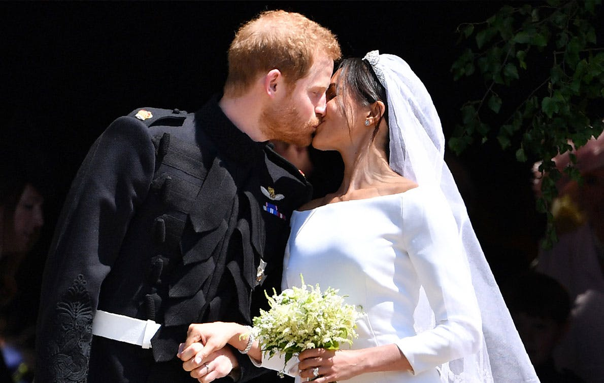 Here's Every Time Meghan and Harry Broke Protocol & Showed PDA, In Honor of Their 1-Year Anniversary