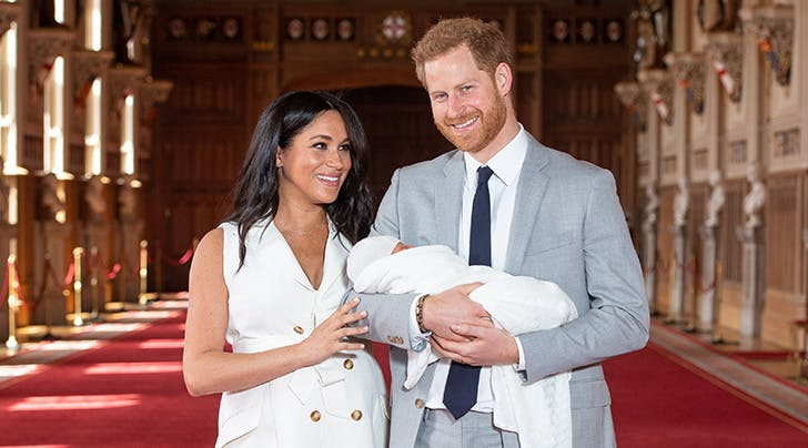 Meghan and Harry Broke Royal Tradition with Their Baby Photos in the Most Refreshing Way