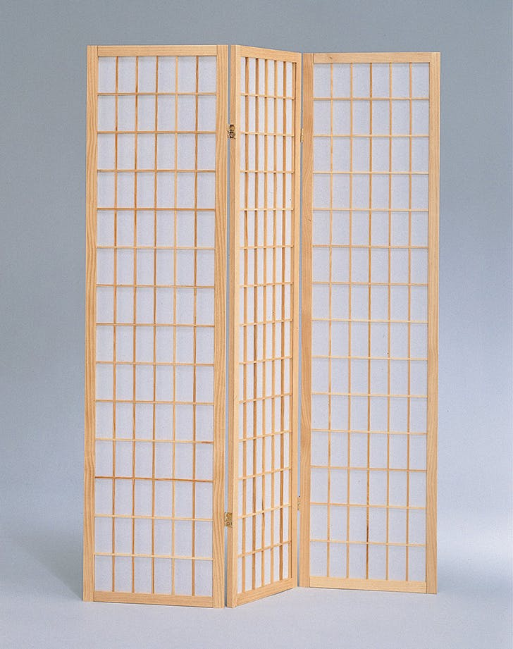 milton green three panel divider screen