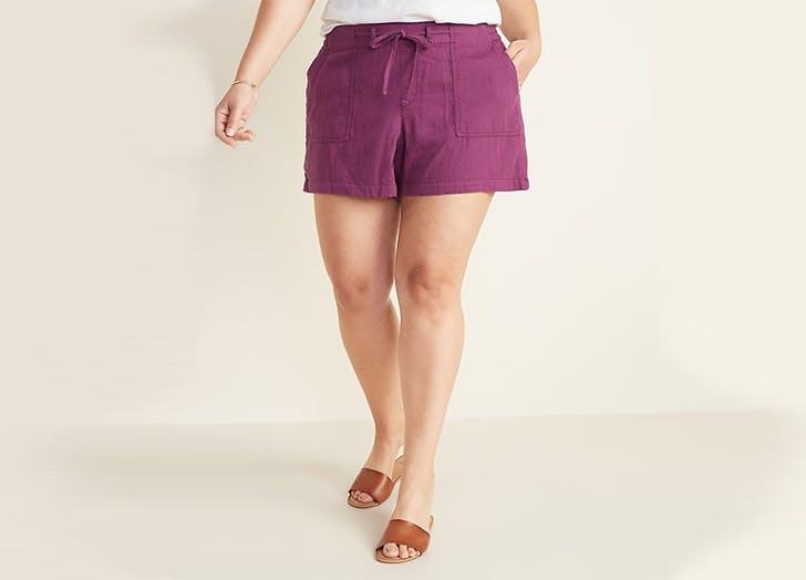 old navy plus size shorts