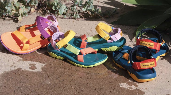 Outdoor Voices Just Teamed Up with Teva for a Line of Summery Sandals