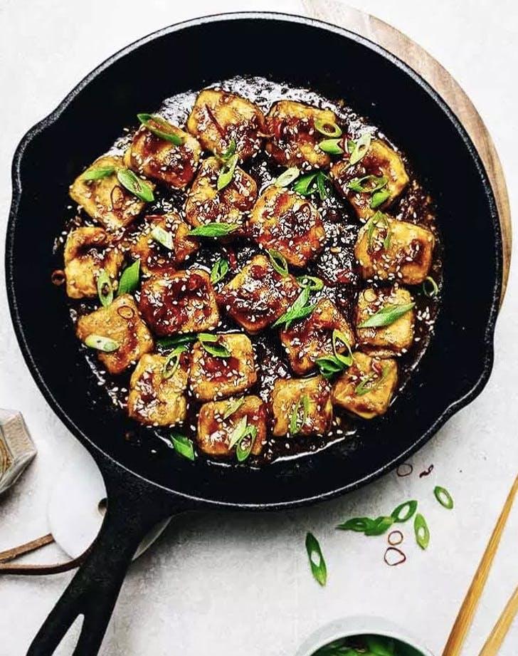 paleo crispy sesame tofu recipe