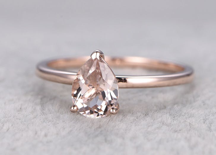 9 Non Traditional Engagement Ring Stone Trends Purewow