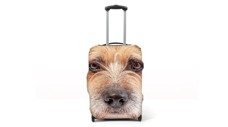 You Can Now Personalize Your Suitcase with Your Pet's Face (Because Why Not?)