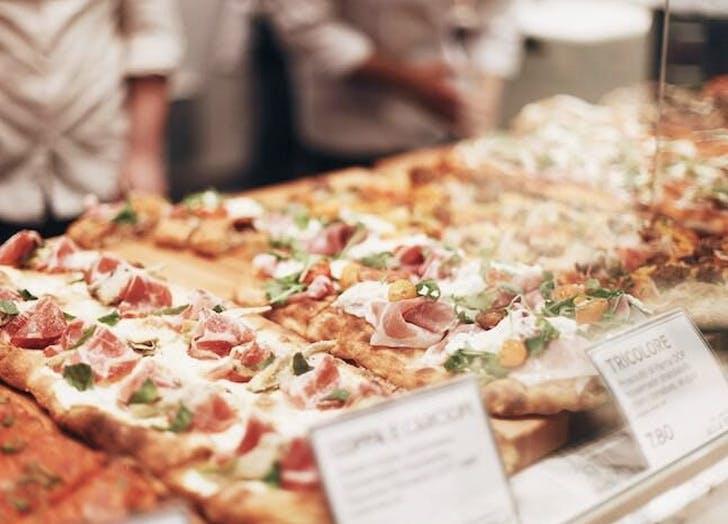 pizzas and flatbread