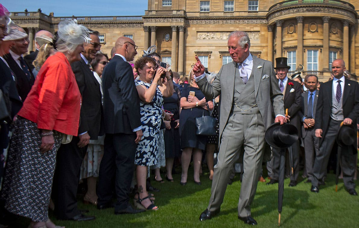 prince charles garden party