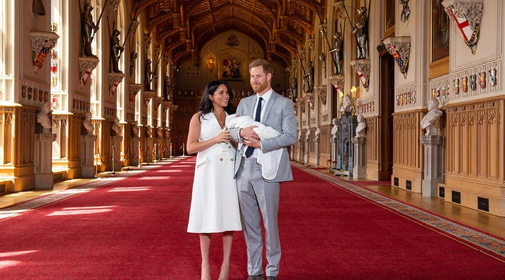 Archies Royal Baby Photos Werent Supposed to Happen Where They Did (but There Was a Big Last-Minute Change)