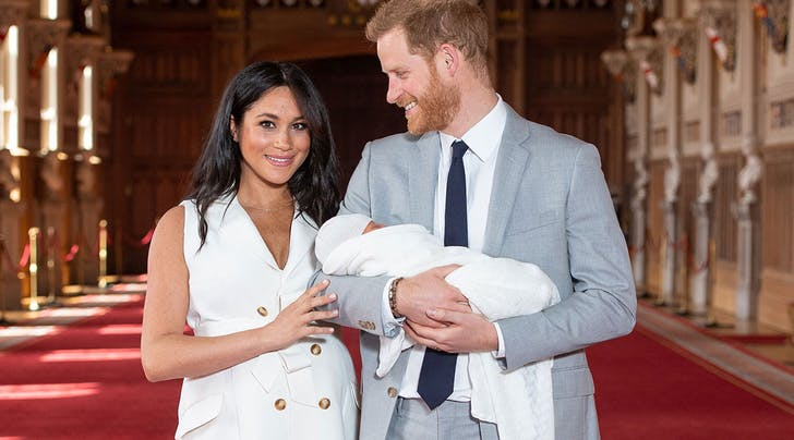 Why Meghan Markle and Prince Harrys Royal Baby Has the Surname Mountbatten-Windsor