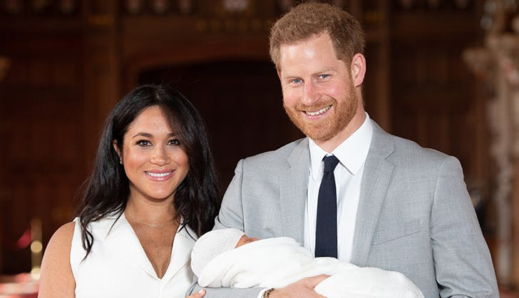 prince harry meghan markle new son first photos