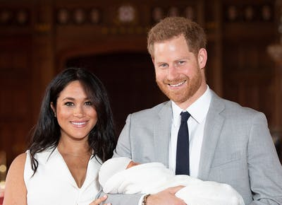 ef053505277 Baby Sussex s Debut Outfit Paid a Special Tribute to the Royal Family