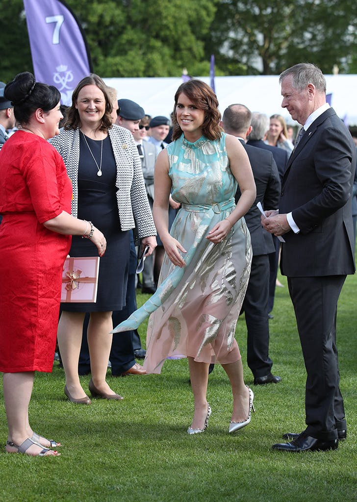 princess eugenie ombre dress 2