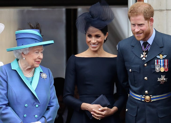 Queen Elizabeth Has Festive Plans for Prince Harry and Meghan Markle's One-Year Wedding Anniversary