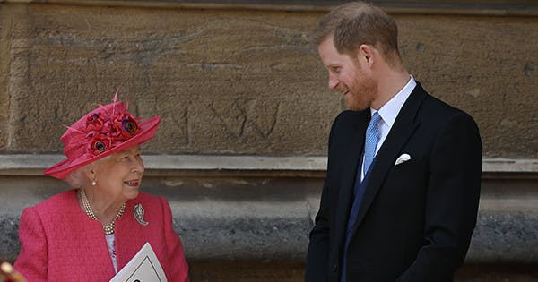 Awww, Prince Harry Just Had the Sweetest Moment with His Grandparents
