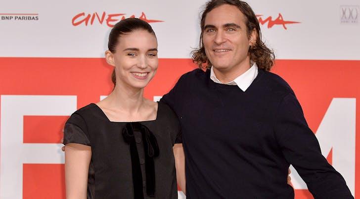 Wait, Are Joaquin Phoenix & Rooney Mara Engaged?