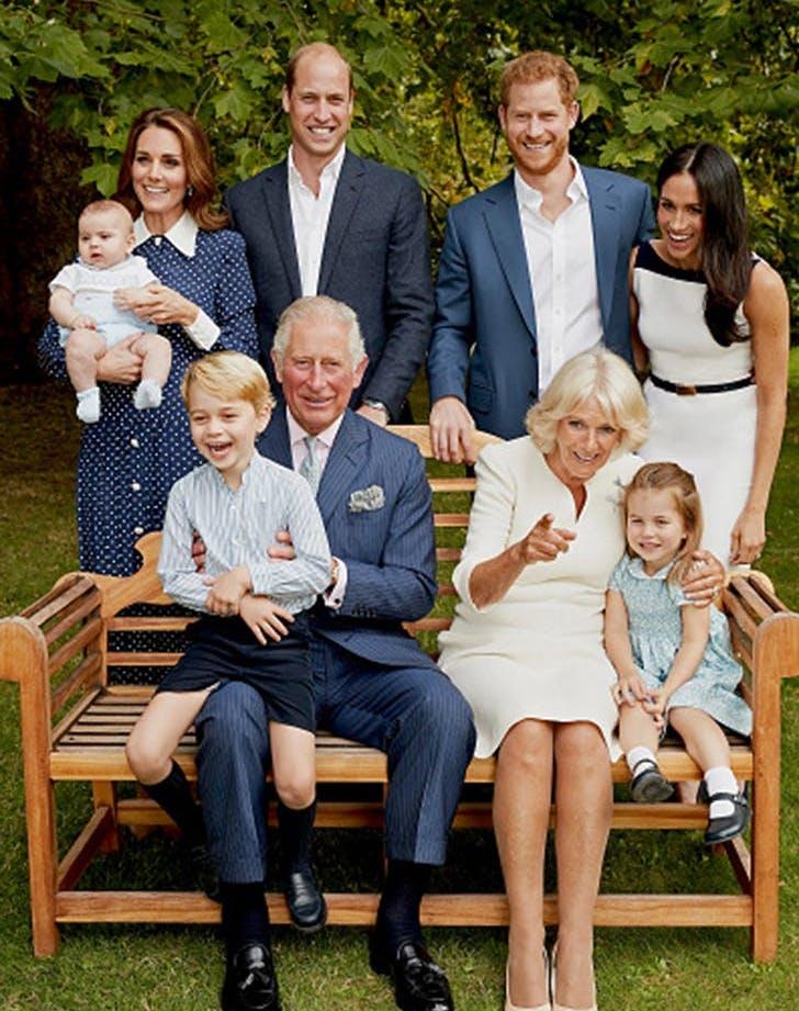 royal family portrait prince charles 70 birthday