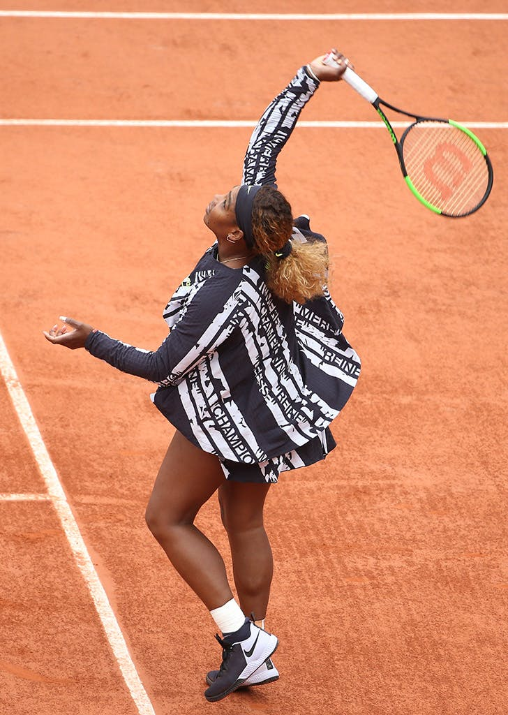 serena french open jacket
