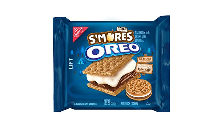 smores oreos package