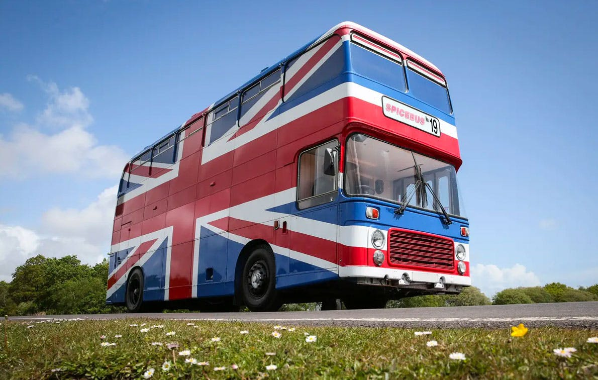 The Spice Girls Bus from 'Spice World' Is Now Available to Rent on AirBnb, and You Have to See the New Interior