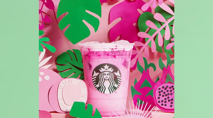 If Westeros Had a Starbucks, This Pink Dragon Drink Would Be Daenerys Targaryen's Go-To Order