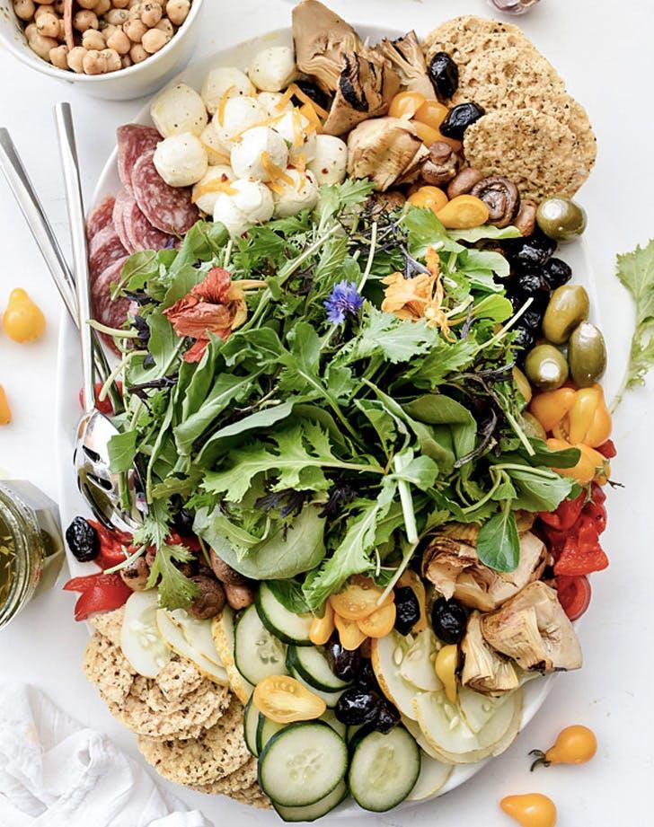ultimate italian salad platter recipe