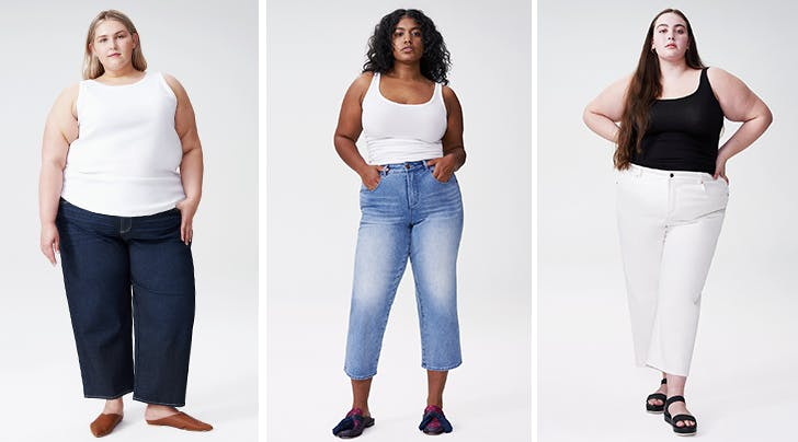Whether Youre a Size 00 or 40, This Brand Will Show You Their Clothes on a Model with Your Body Type