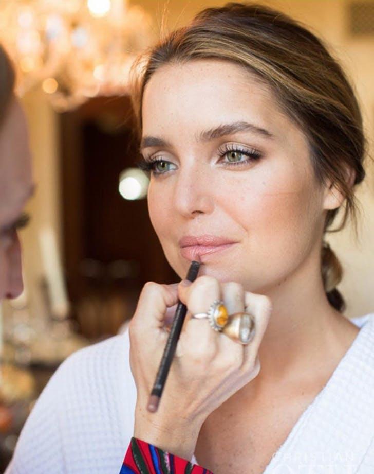wedding makeup lips