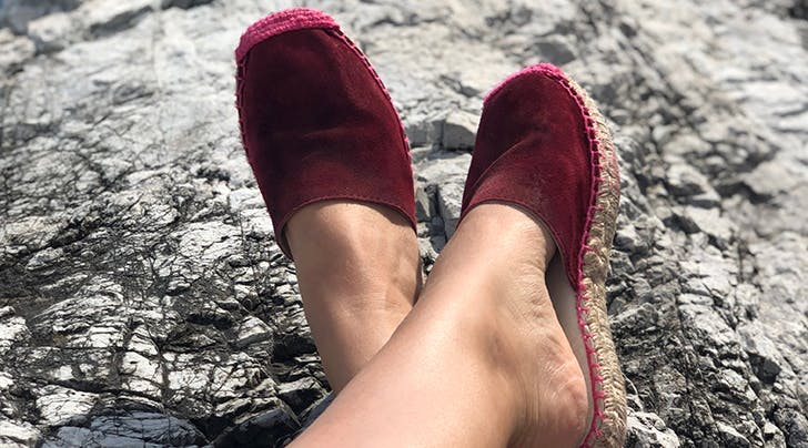 Here's How a Pair of Espadrilles Saved My Italian Vacation