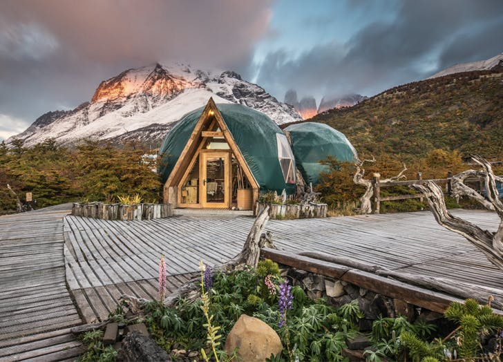 Eco Camp Torres del Paine Patagonia Chile