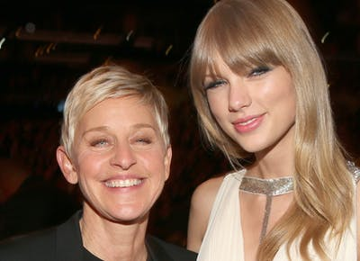 Ellen Degeneres Hinted At Taylor Swift Video Cameo Purewow