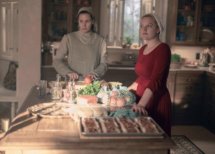 June in the kitchen handmaids tale