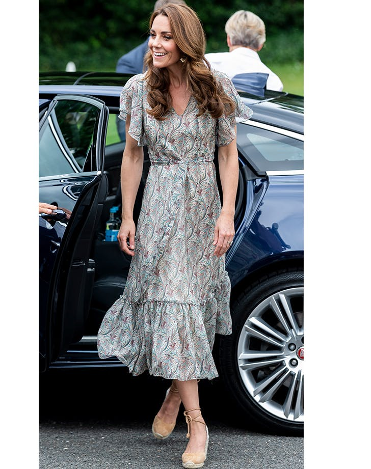 Kate Middleton Looked—Dare We Say—Kind of Boho Today