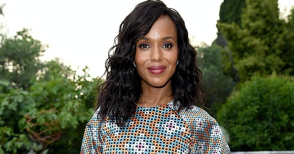 You Have to See How Kerry Washington Matches Her Dress to Her Mani