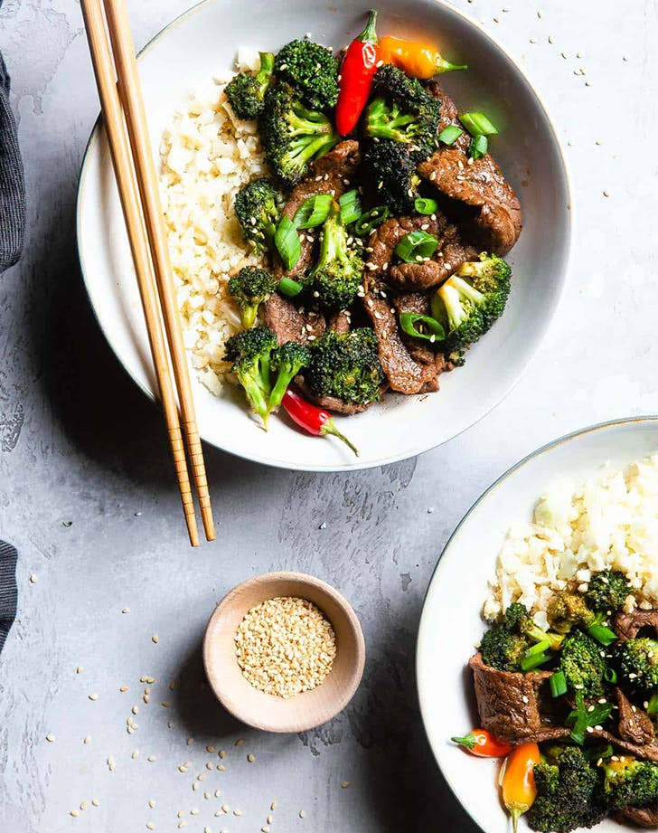 Low Carb Keto Beef and Broccoli