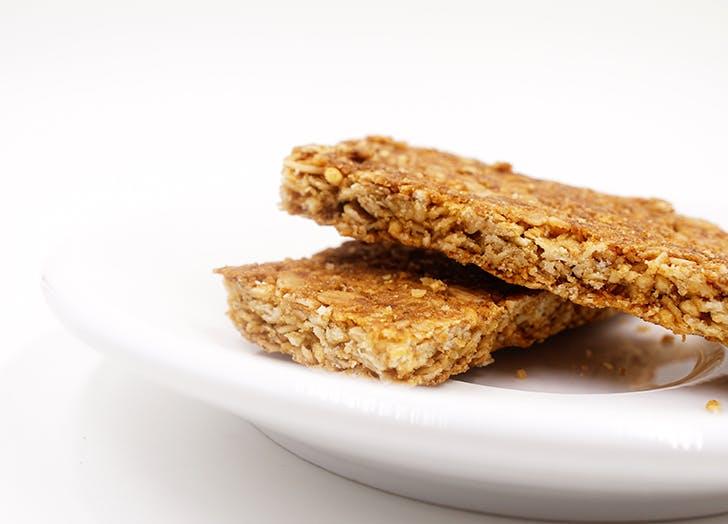 Plain granola bar