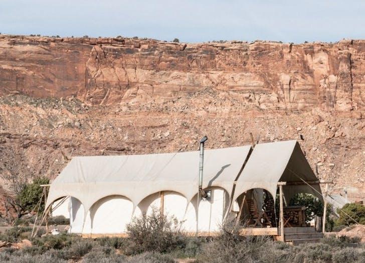 Bajo la lona Moab Utah