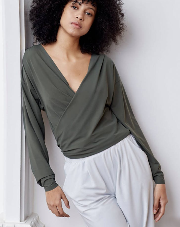 aday wrap top